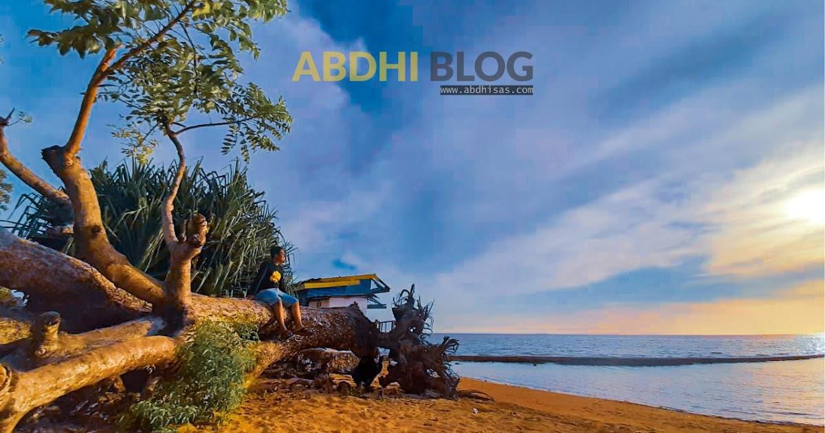 Senja Romantis Di Pantai Kuri Caddi Maros Abdhi Blog