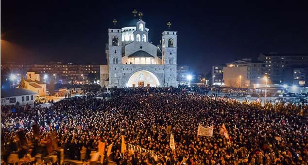 #Crna_Gora #Litije #Zakon #Protest
