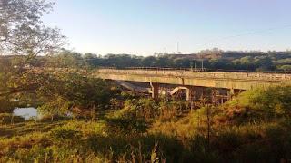 Ponte em Sussuarana cai