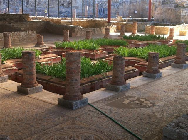Viridarium jard n romano gladiatrix antigua roma - Disenador de jardines ...