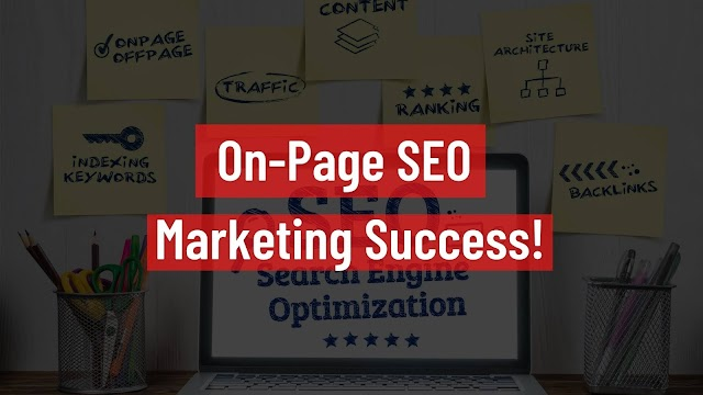 On-Page SEO Marketing Success!