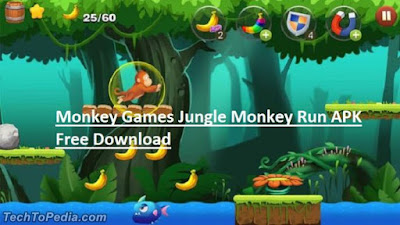 Monkey Games Jungle Monkey Run APK Free Download