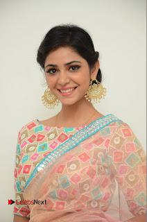 Actress Priyanka Bharadwaj Pictures in Saree at Mister 420 Press Meet  0013.JPG