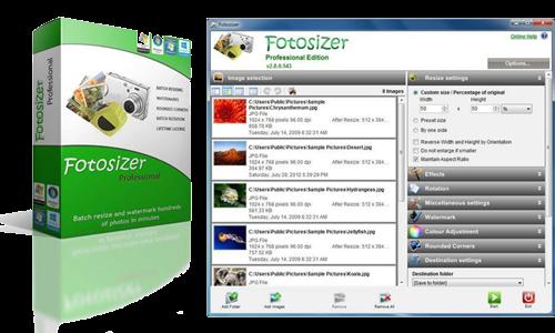Fotosizer 3 7 0 565 Portable - Reduce Photo Size without