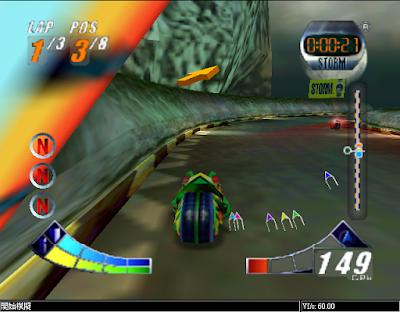 【N64】極限機車賽1+2系列合集,狂野的摩托車競速!
