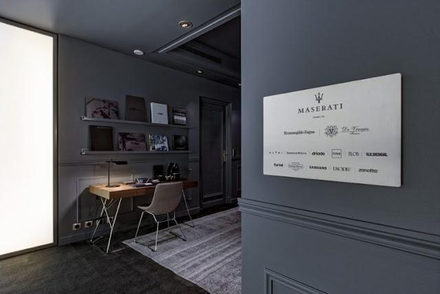 Famous Interior Designers Ludovica Palomba Serafini For Maserati Suite 2