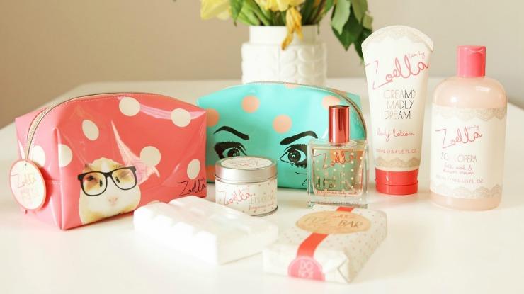 productos de maquillaje de Zoella