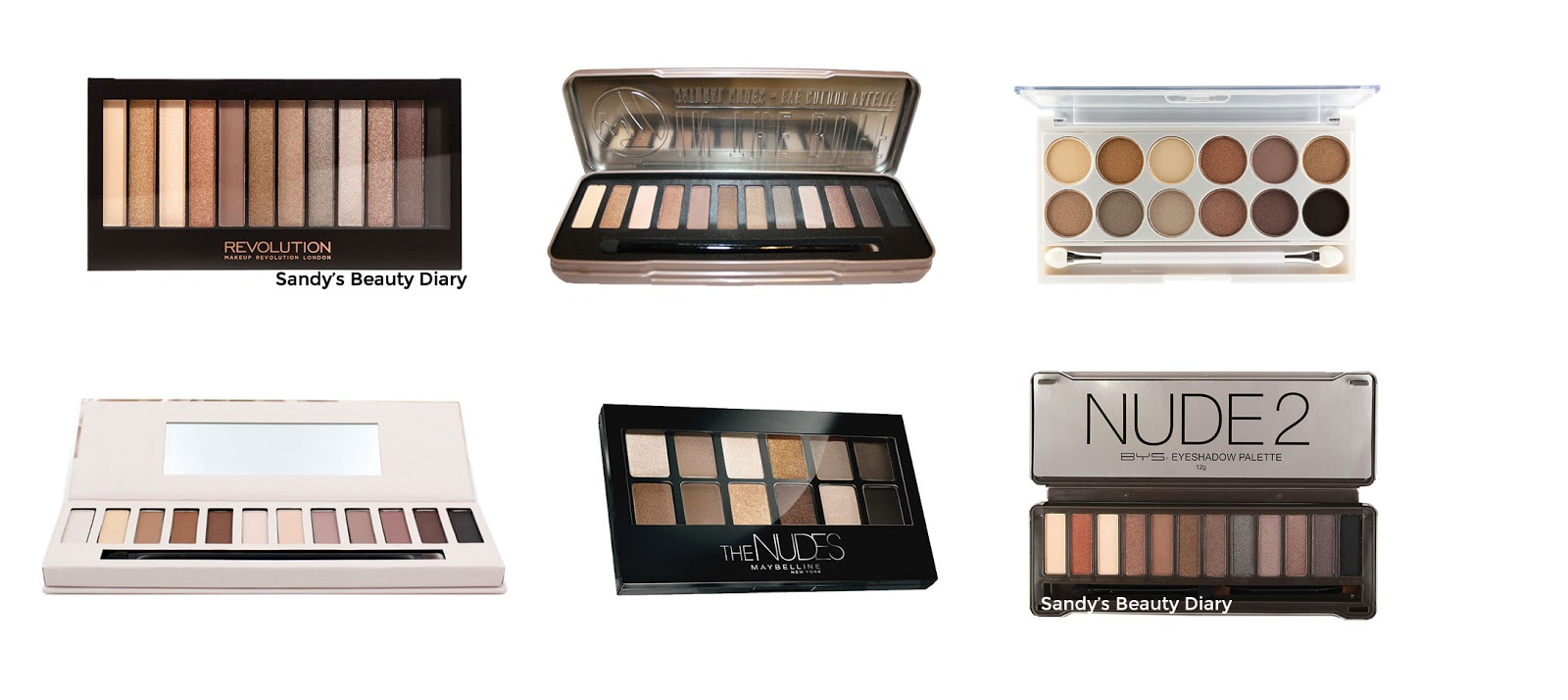 Dupes palettes Naked 2 Urban Decay