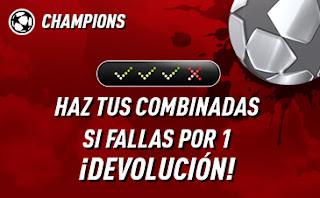 sportium Devolucion Champions 17-19 febrero 2020
