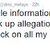 MPNAIJA GIST:Between Dino Melaye & EFCC on Twitter and hilarious comments from Nigerians