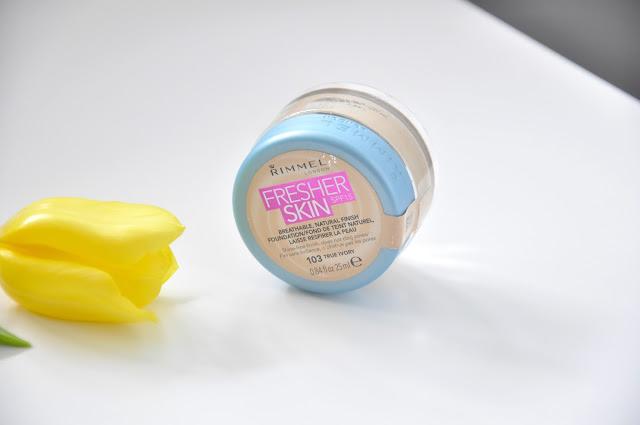 recenzja podkładu rimmel fresher skin. ideał na lato?