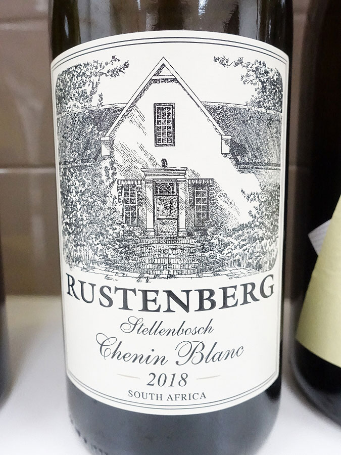Rustenberg Stellenbosch Chenin Blanc 2018 (89 pts)