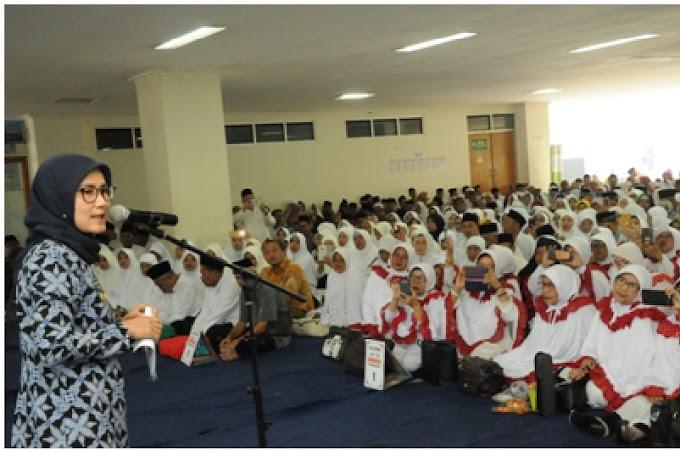 Buka Bimbingan Manasik Haji 2019, Bupati Lebak: Siapkan Fisik Mental dan Kesehatan