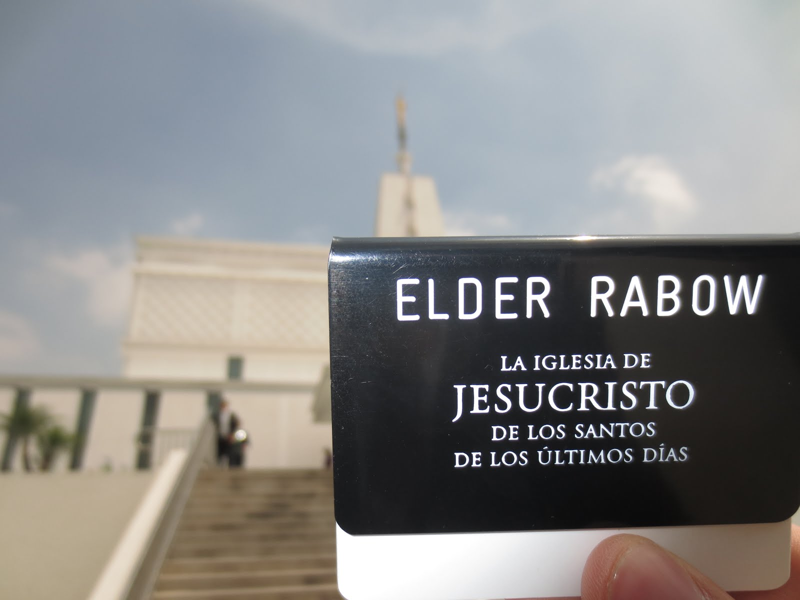 Elder Rabow Badge