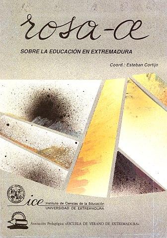 ROSA-AE. SOBRE LA EDUCACIÓN EN EXTREMADURA