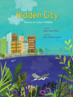 Cover art for Hidden City: Poems about Urban Wildlife