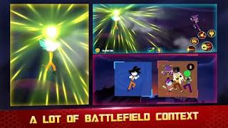 Neste jogo, você jogará Stickman Z para lutar contra os enormes chefes Dragon