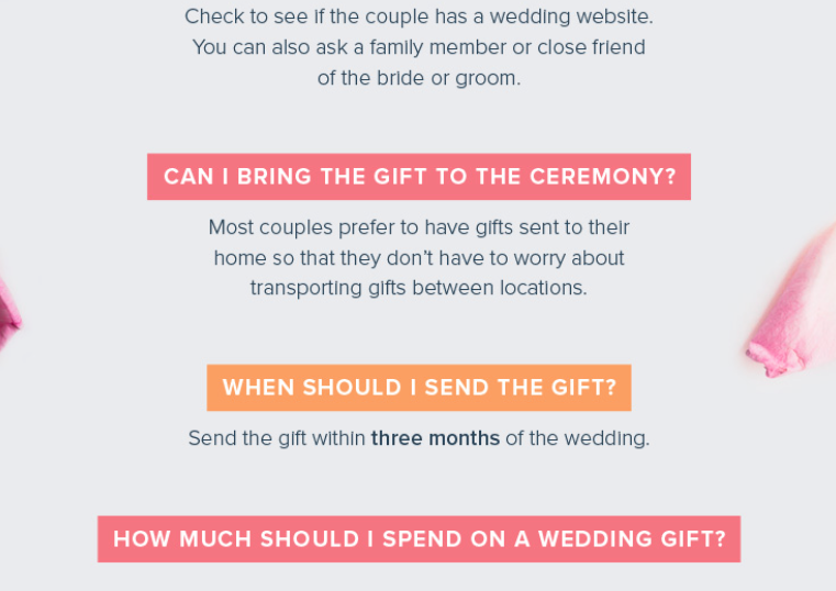 Wedding Gift Giving Etiquette Questions : Detroit Michigan Wedding Planner Blog: Wedding Gift Etiquette Tips