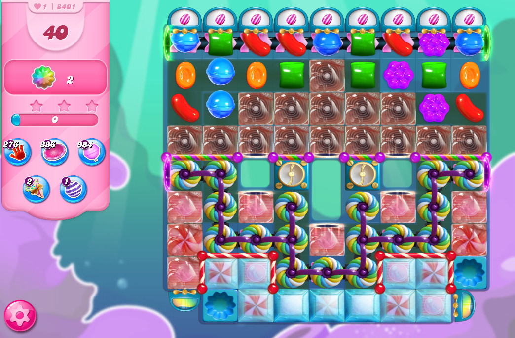 Candy Crush Saga level 8401