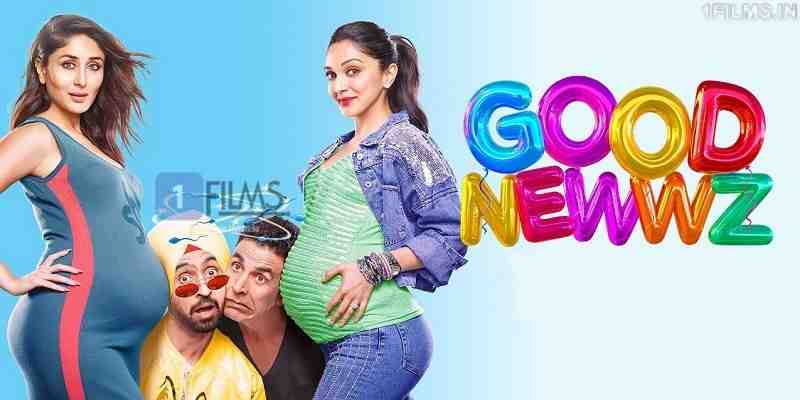 Good Newwz aka Good News Movie Screen Count Poster