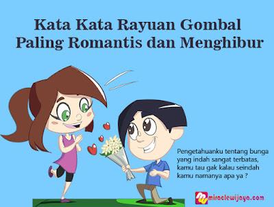 Kata Kata Rayuan Gombal Paling Romantis dan Menghibur