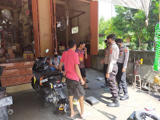 Satuan Sabhara Polres Enrekang Terus Melaksanakan Patroli Yustisi Guna Menekan Penyebaran Covid 19