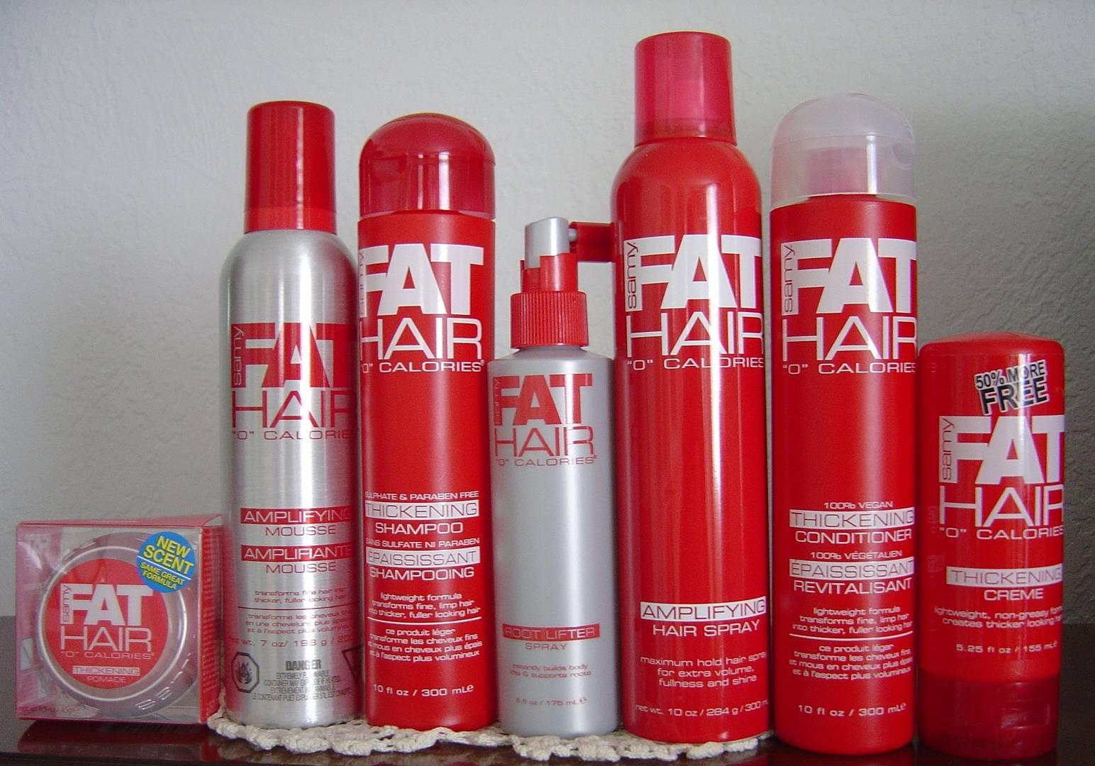 "Samy Fat Hair ""O"" Calories line"