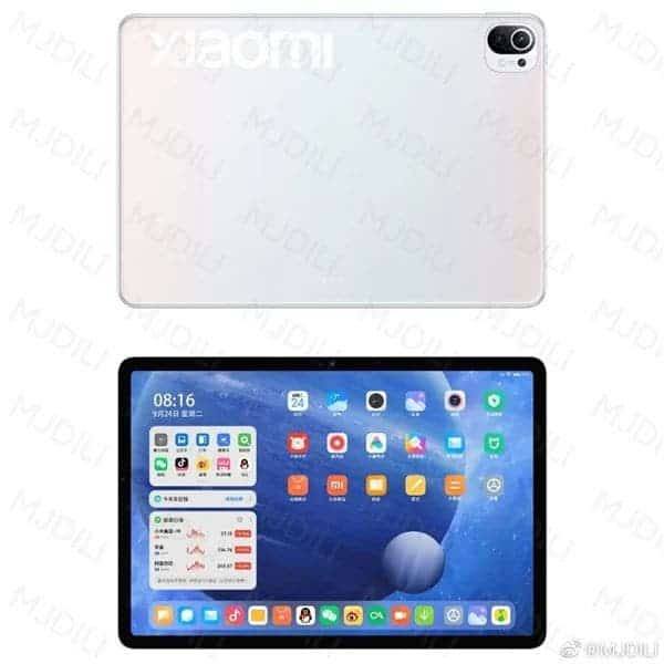 XIAOMI MI PAD 5: RENDERS, SPECS, AND PRICE LEAKED IN THE WEB