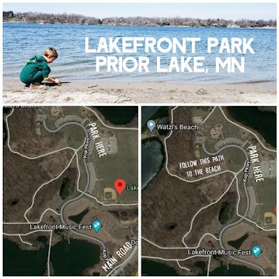 bohemian catholic boy beach lakefront park map