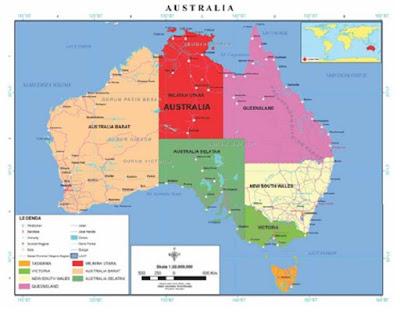 Wilayah Teritory Negara Australia