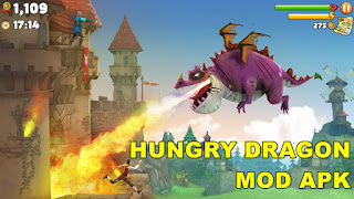 Download Hungry Dragon Mod Apk For Android Arcade Game - HK2LITE