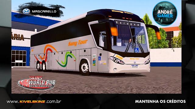 MASCARELLO ROMA R8 - VIAÇÃO SANY TOUR