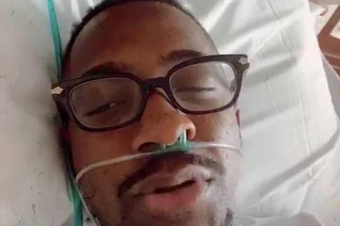Mumuzinho faz live do hospital