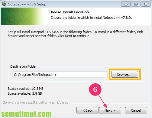 cara install notepad di windows 8.1