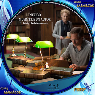 GALLETA INTRIGO MUERTE DE UN AUTOR - INTRIGO TOD EINES AUTORS - DEATH OF AN AUTOR 2018[COVER BLU-RAY]