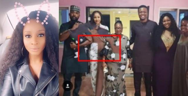 Banky W's wife, Adesua Etomi allegedly pregnant (photo)