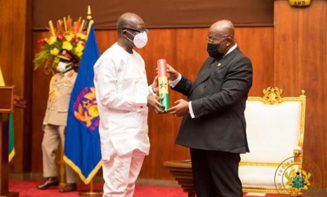 Put economy on sound footing – Akufo-Addo charges Ofori-Atta