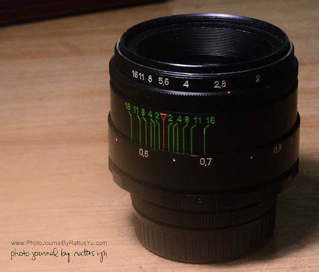 Helios 44-2 58mm f/2 (M42 Modified for Nikon Infinity)