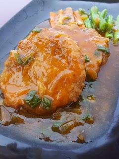 Resep Steak Tahu Crispy Saus Barbeque