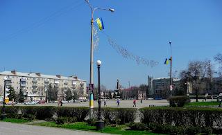 Павлоград. Соборная площадь