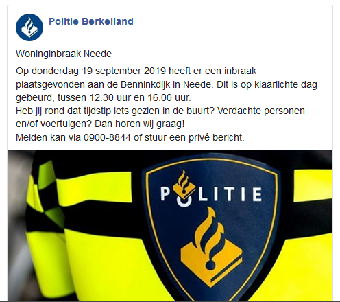 https://www.facebook.com/politie.berkelland/