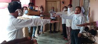 अंजड नगर परिषद के कर्मचारियों ने मनाया सद्भावना दिवस