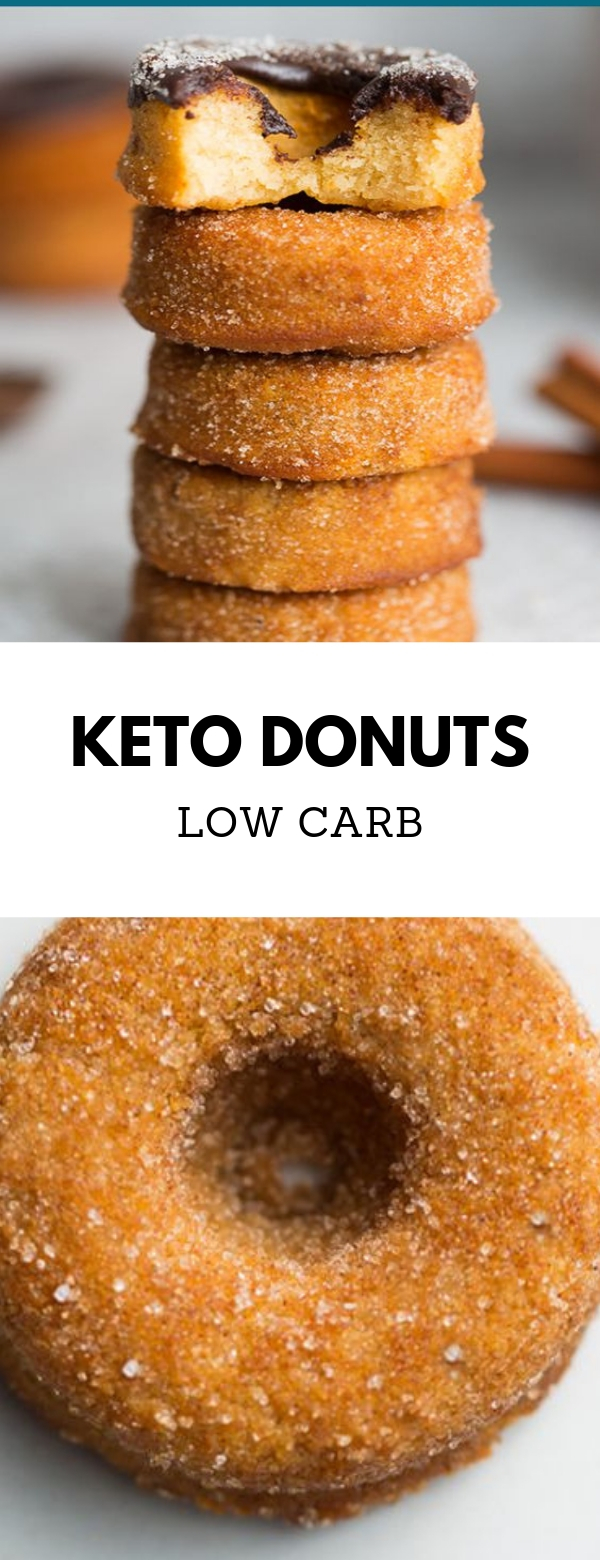 Low carb Keto Donuts #lowcarb #keto #donuts #paleo #breakfast #dessert