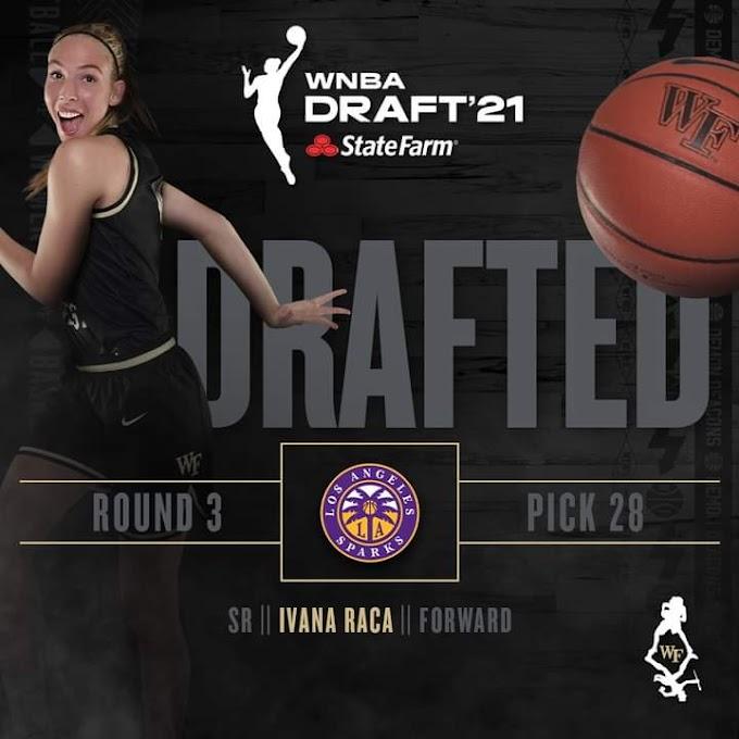 Η Ιβάνα Ράτζα, νο28 στο Draft του WNBA