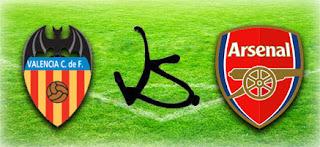 Арсенал – Валенсия  смотреть онлайн бесплатно 2019 прямая трансляция в 22:00 МСК.
