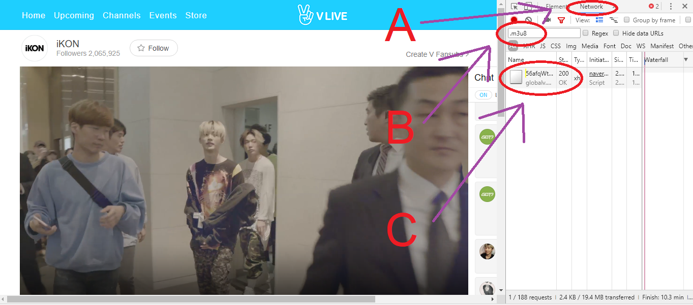 10원 Tips: Download subtitles (and videos) from Naver V Live, manually