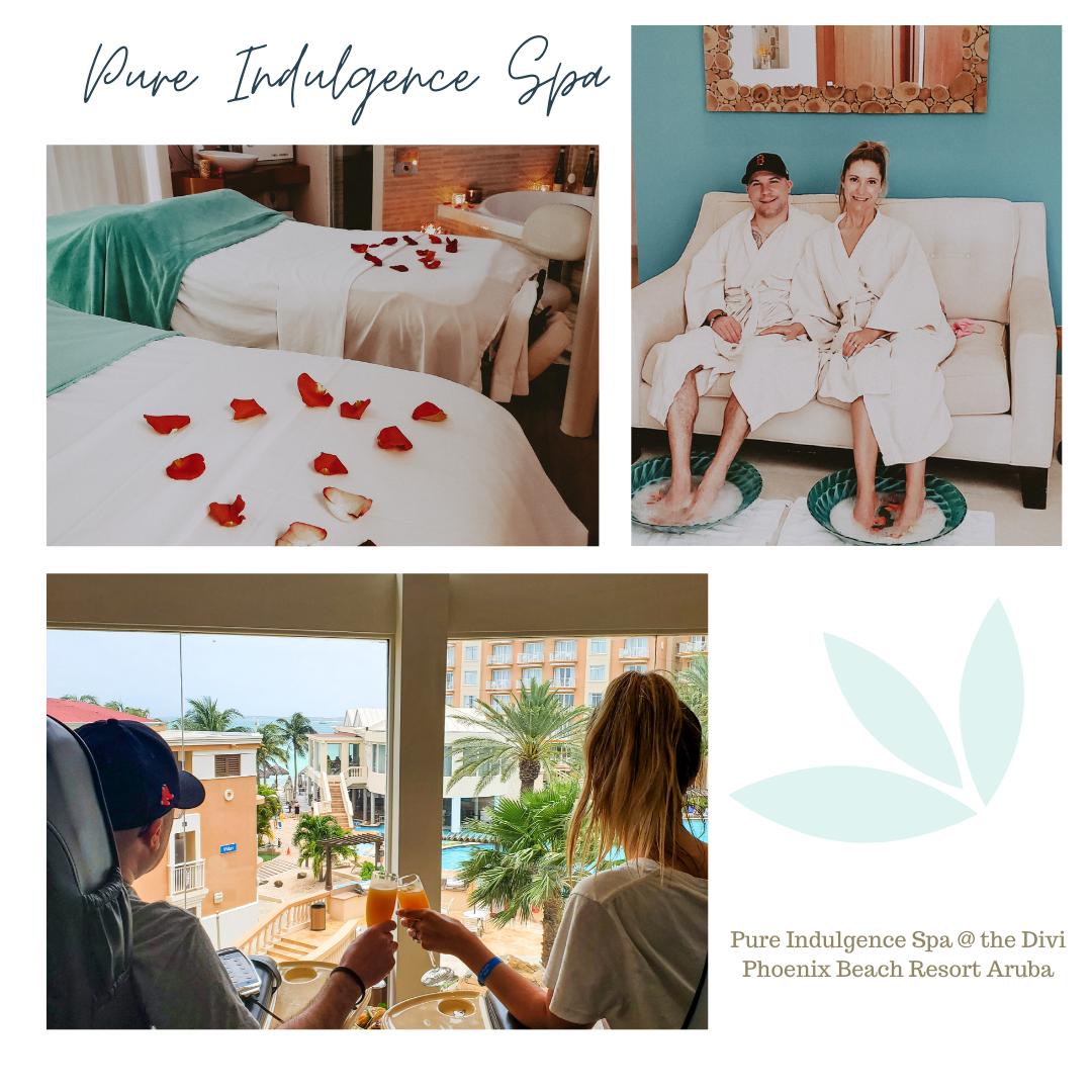 Aruba spa Pure Indulgence at Divi resort