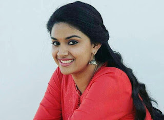 Keerthy Suresh in Red Dress