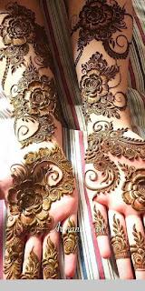 Arabic Mehendi Design Images