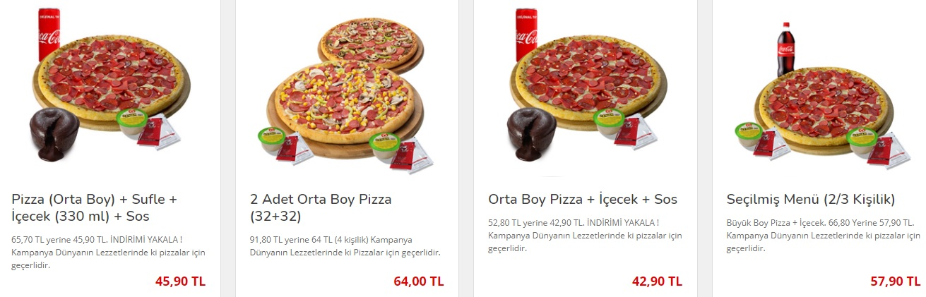 pizza bulls menü fiyat listesi kampanyaları türkiye online sipariş